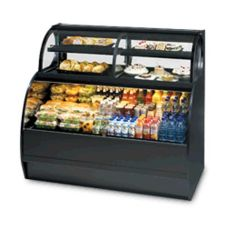 "Federal Industries Black 59"" Refrigerated Display Case"
