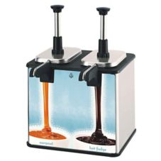Server 85899 Twin Dessert Topping Warmer