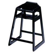 Old Dominion S-4 Black Stackable Wooden High Chair