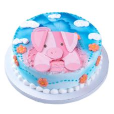 Bakery Crafts® CAL-807 Pig Flexi Adorn Set - 6 / BX