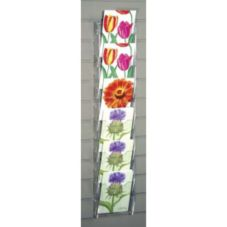 Clear Solutions 8524-SW Acrylic Greeting Card Ladder for Slatwall