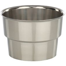 "Libertyware SMC3 Stainless Steel 3-1/2"" Malt Collar Top"