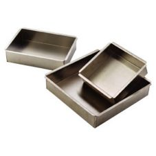 "Allied Metal 18"" x 18"" Aluminum Square Pan"
