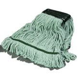Carlisle® 369478B09 Flo-Pac® Medium Looped-End Green Mop