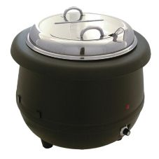 Update International ESW-10AL 10.5 Qt. Electric Soup Kettle with Ladle