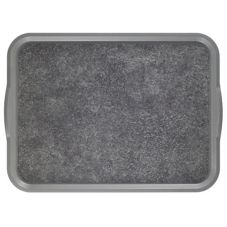 "Cambro 1520VCRST381 Pearl Gray 15 x 20"" Room Service Camtray - 12 / CS"