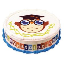 Lucks™ Edible Image® Graduation Owl