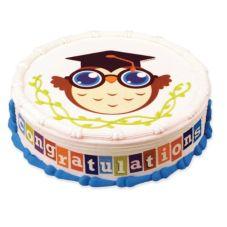 Lucks™ 16635 Edible Image® Graduation Owl - 12 / BX