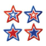 Lucks™ 48134 Dec-Ons® Large Patriotic Stars - 120 / BX