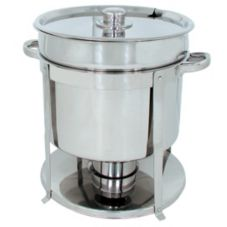 Update International CM-18 11 Qt. Contemporary Marmite Soup Chafer