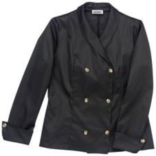 Chefwear® Women's XL Black Vogue Chef Jacket