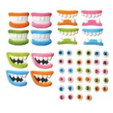 Lucks™ 45811 Dec-Ons® Silly Face Pieces - 216 / BX
