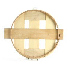 "Texas Basket 207 18"" x 1"" Flat Lid for Bushel Basket"