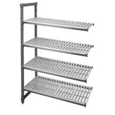 """Cambro EA184872580 Graphite 18"""" x 48"""" x 72"""" (4) Shelf Add-On Unit"""