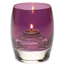 Hollowick Pinot Lustre Contour Votive Candle Holder
