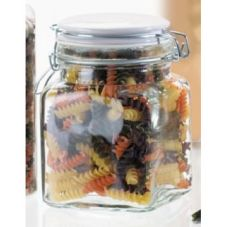 Global Amici 7CA830C 28 Oz. Cresta Quadra Storage Jar - 6 / CS