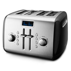 KitchenAid® 4-Slice Silver Toaster