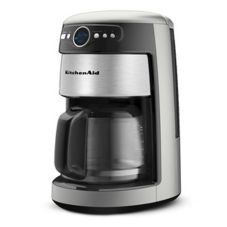 KitchenAid® 14-Cup Silver Coffee Maker