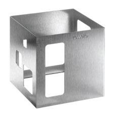 """Rosseto® D63177 7"""" x 7"""" Stainless Steel Square Riser"""