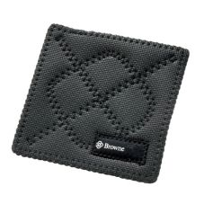 "Browne Foodservice KitchenGrips® 7"" Black Hot Pad"