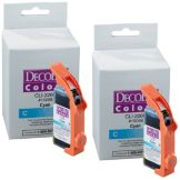 DecoPac 12914 PhotoCake® IV Cyan Edible Ink For iP3500 - 2 / PK