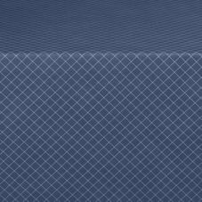 "Marko 58235252SM011 Designer Series 52"" Navy Diamond Head Tablecloth"