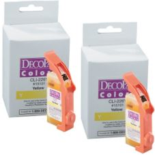 DecoPac 12916 PhotoCake® IV Yellow Edible Ink For iP3500 - 2 / PK