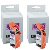 DecoPac 12917 Color Ink 25 ML iP3500 Black Cartridge - 2 / PK