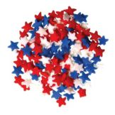 Lucks™ 46691 Red, White, Blue Star Mix Quins