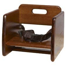G.E.T.® BS-200-W Walnut Finish Wood Booster Seat