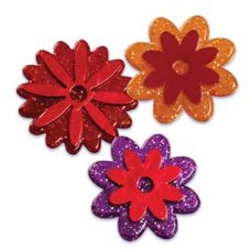 Bakery Crafts® Puffy Fall Flower Rings
