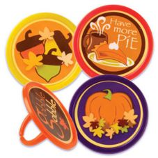 Bakery Crafts® T-31 Autumn Label Rings - 144 / BX