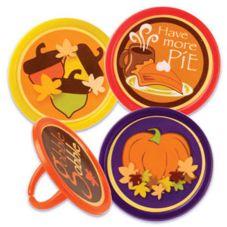 DecoPac® 41671 Autumn Cupcake Rings - 144 / BX