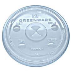 Fabri-Kal 9509112 Greenware 16 / 24 Oz Clear Drink Cup Lid - 1000 / CS
