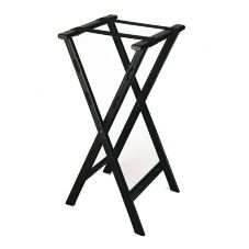 Central Specialties Black Plastic Folding Tray Stand