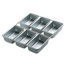 Wilton Enterprises Division 6 Cavity Mini Loaf Pan