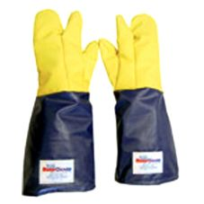"Tucker Safety 57782 QuicKlean™ 18"" Three-Finger Plus Gloves"
