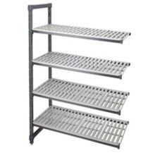 "Cambro EA245472580 Graphite 24 x 54 x72"" (4) Shelf Add-On Unit"