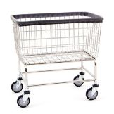 R & B Wire Large Capacity Laundry Cart