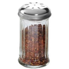 American Metalcraft 12 Oz. Glass Spice Shaker with S/S Lid