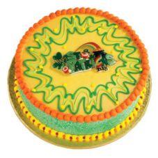 Bakery Crafts® S-92 St. Patrick's Day Glitter Poptop - 24 / BG