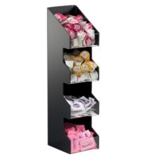 Cal-Mil 1423 Classic 4-Tier Coffee Condiment Display