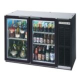 "Beverage-Air BB48GY-1-B 48"" Refrigerated Backbar Storage Cabinet"