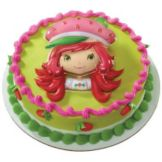 DecoPac 15664 Strawberry Shortcake Berry-licious Face DecoSet- 6 / BX