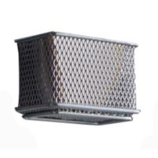 Design Ideas 351309 MagNet™ Small Silver Mesh Bin