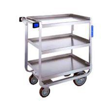 "Lakeside® 939 S/S (3) 18"" x 27"" Shelf Utility Cart"