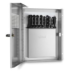 Edlund KLC994 KR-99 Locking Knife Cabinet with KR-699 Knife Rack