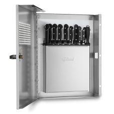 Edlund KLC-994 Locking Knife Cabinet with KR-699 Knife Rack