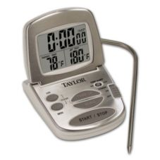 Taylor Precision 1478-21 Gourmet Digital Thermometer / Timer - 3 / PK