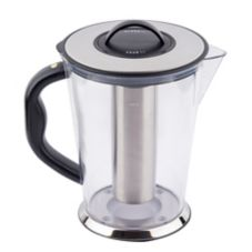 Tablecraft Polycarbonate 3/4 Gal Pitcher with S/S Center Ice Core